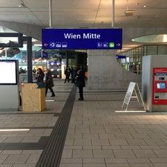 Das Foto wurde bei Bahnhof Wien Mitte von Martin O. am 3/21/2013 aufgenommen
