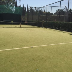 Photo taken at Filothei Tennis Club by Hrww C. on 5/23/2015