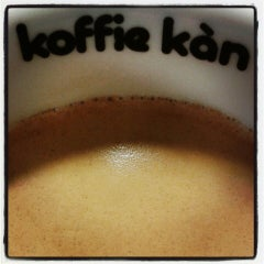 Photo taken at Koffie Kàn by Marjolein V. on 6/10/2014