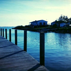 Photo taken at Westhampton Yacht Squadron by Ferhat Ö. on 10/21/2015