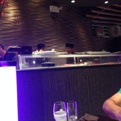 Photo taken at Takayama Sushi Lounge by Kleopatra M. on 8/13/2014