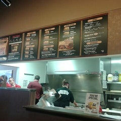Photo taken at Penn Station East Coast Subs by Nick M. on 12/28/2012