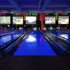 Photo taken at Bowlmor Lanes Union Square by @tdavidson on 6/2/2013