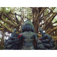 Photo taken at Kauai Hindu Monastery by @tdavidson on 11/19/2014