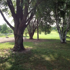 Photo taken at Eau Claire Dog Park by Jeanny H. on 7/28/2014