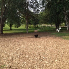 Photo taken at Eau Claire Dog Park by Jeanny H. on 8/1/2014