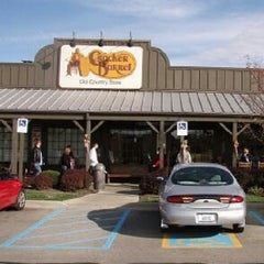 Photo taken at Cracker Barrel Old Country Store by Christopher C. on 2/24/2013