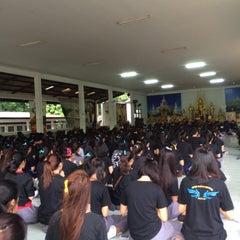 Photo taken at วัดป่ากู่แก้ว by Noey J. on 8/23/2015