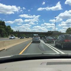 Photo taken at I-66 - Arlington / Fairfax County by David W. on 6/7/2014