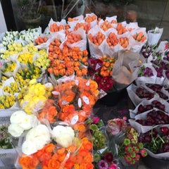 Photo taken at Flower District by Dean W. on 4/16/2015