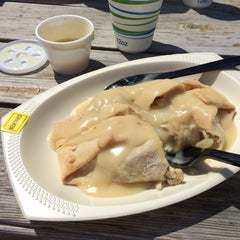 Photo taken at Mackinaw Pastie & Cookie Co. by Connor S. on 7/19/2014