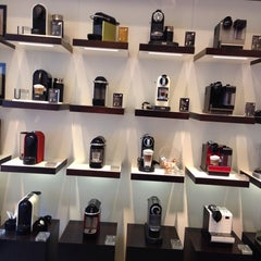 Photo taken at Nespresso Boutique by Thidarat Z. on 2/28/2014