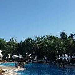 Photo taken at Alara Park & Residence Hotel by Кристина Ф. on 9/5/2014