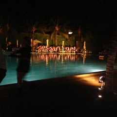 Photo taken at Pool at The Standard Spa, Miami Beach by Sandirose M. on 11/14/2012