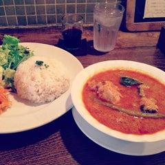 Photo taken at Cafe Amar by violetyuu on 1/5/2013