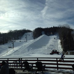 Photo taken at Carinthia Parks at Mount Snow by Peter C. on 1/5/2014