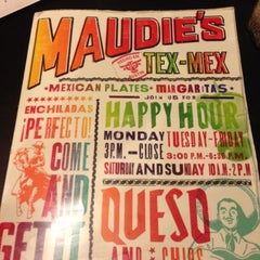 Photo taken at Maudie's Cafe by Patrick H. on 11/16/2012