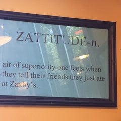 Photo taken at Zaxby's by Sara B. on 4/21/2015
