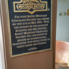 Photo taken at Rocky Mountain Chocolate Factory by Richard E. on 9/30/2015