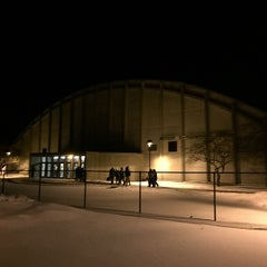 Photo taken at Thompson Arena at Dartmouth by Timothy P. on 1/31/2015