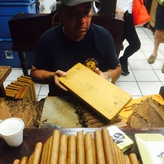 Photo taken at Little Havana Cigar Factory by Debra O. on 7/21/2015
