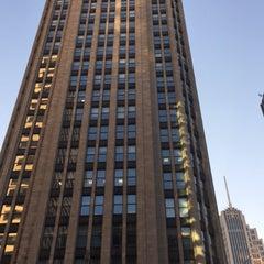 Photo taken at Tribune Tower by Scott Kleinberg on 4/1/2016