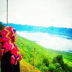 Photo taken at Danau Maninjau by Dian D. on 8/2/2014
