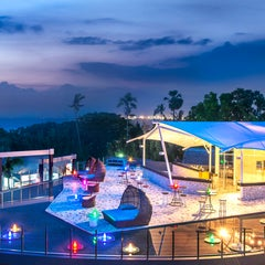 Photo taken at Le Méridien Bali Jimbaran by Marlieke J. on 7/8/2014