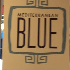 Photo taken at Mediterranean Blue by Kathy C. on 6/26/2013