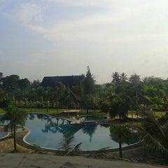Photo taken at Grand Mangku Putra Hotel by Siska S. on 5/11/2013