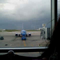 Photo taken at Gate C43 by Nicole M. on 5/30/2014