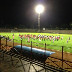 Photo taken at Stadion Mulawarman by Agung P. on 8/5/2013