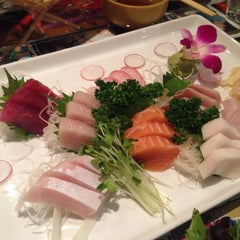 Photo taken at Kiku Sushi by Sara R. on 2/20/2014