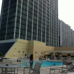 Photo taken at Hilton Hotel Rooftop Pool by Renata M. on 9/1/2013