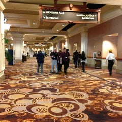 Photo taken at Mandalay Bay Convention Center by Erdal K. on 1/7/2013