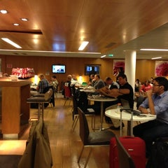 Photo taken at Air France Lounge by Laurent D. on 9/30/2012