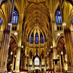 Photo taken at St. Patrick's Cathedral by Jason C. on 1/13/2013