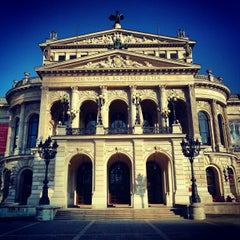 Photo taken at Alte Oper by Oliver on 2/10/2013