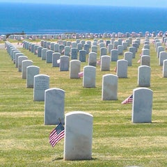 Photo taken at Fort Rosecrans National Cemetery by Roger on 5/26/2013
