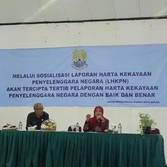 Photo taken at Islamic Center Bekasi by Inryd N. on 9/16/2015