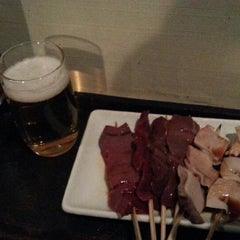 Photo taken at もつやき専門店カッパ 吉祥寺店 by hame h. on 1/16/2015
