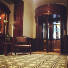 Photo taken at Brown's Hotel by DAI m. on 9/16/2012