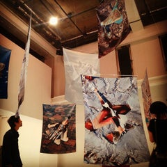 Photo taken at CALM & PUNK GALLERY TOKYO by asatrid a. on 9/16/2014