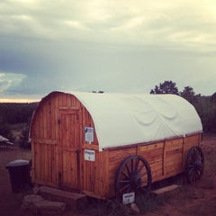 Photo taken at Zion Ponderosa Ranch Resort by Rebecca D. on 7/23/2013