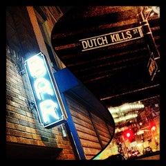 Photo taken at Dutch Kills by Vitor L. on 11/15/2012