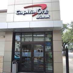 Photo taken at Capital One Bank by Rachel B. on 7/8/2015
