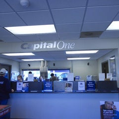 Photo taken at Capital One Bank by Rachel B. on 7/31/2015