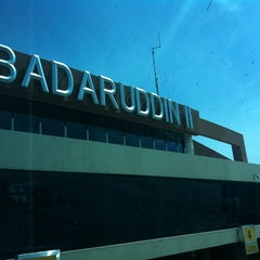 Photo taken at Sultan Mahmud Badaruddin II International Airport (PLM) by Dimas W. on 12/14/2012