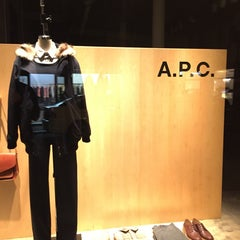 Photo taken at A.P.C. Store by G Q. on 11/8/2014