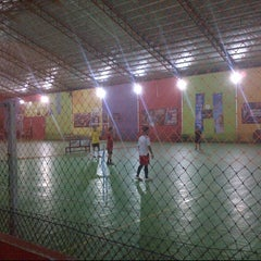 Photo taken at Vidi Arena Futsal by Apiet Y. on 2/20/2014